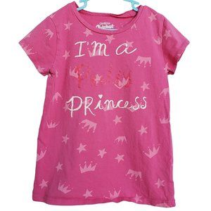 OSHKOSH Pink Short Sleeve Pretty Princess 8